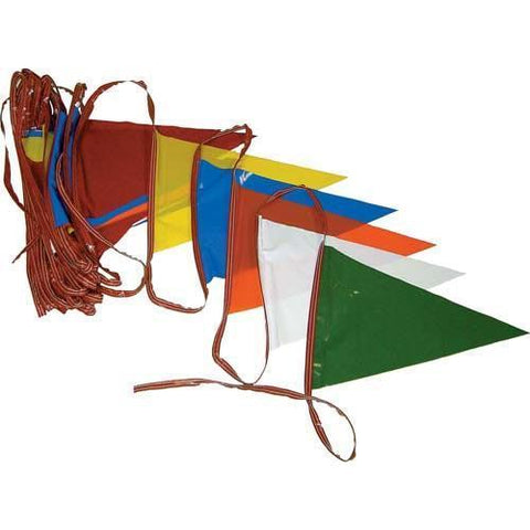 Pennant Streamers - 1000' (ten 100' rolls) - Ohio Fitness Garage - Olympia -Pennant Streamers Equipment