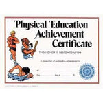 Physical Education Certificates - Pack of 25 - Ohio Fitness Garage - Olympia -Sports Certificates Equipment