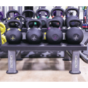 Platinum Series 2 Tier Kettlebell Storage Rack - Strencor - Ohio Fitness Garage - Strencor -sports Equipment