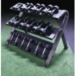 Platinum Series 3 Tier Dumbbell Rack - Strencor - Ohio Fitness Garage - Strencor -sports Equipment