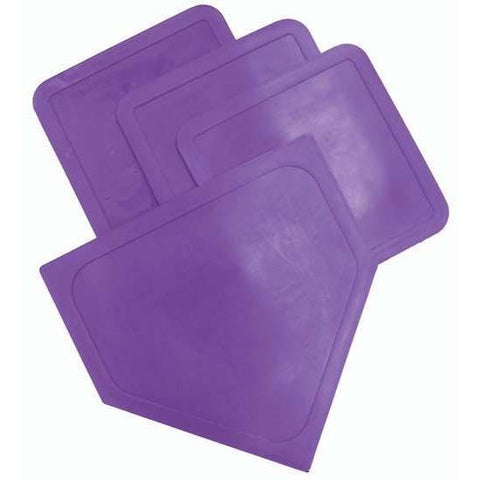 Poly Baseball Bases - Purple - Ohio Fitness Garage - Olympia -Poly Bases - In 7 Colors Equipment