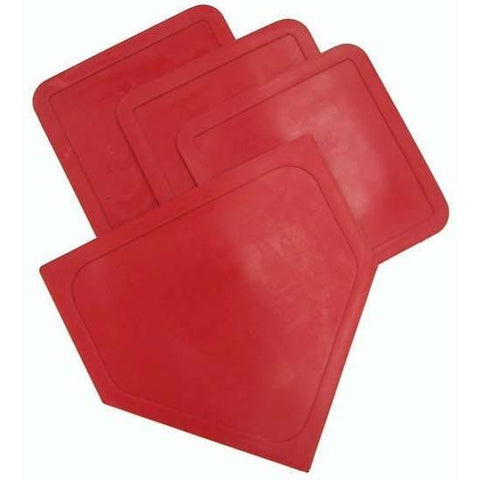 Poly Baseball Bases - Red - Ohio Fitness Garage - Olympia -Poly Bases - In 7 Colors Equipment