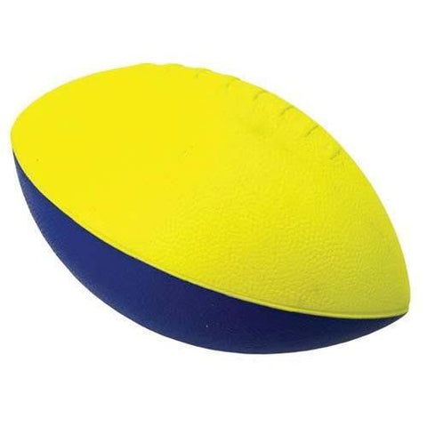 Poof 3/4 Size Football - Ohio Fitness Garage - Olympia -High Density, Coated Foam Balls - Poof Brand Equipment