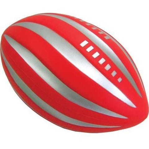 Poof Fluted Football - Ohio Fitness Garage - Olympia -High Density, Coated Foam Balls - Poof Brand Equipment