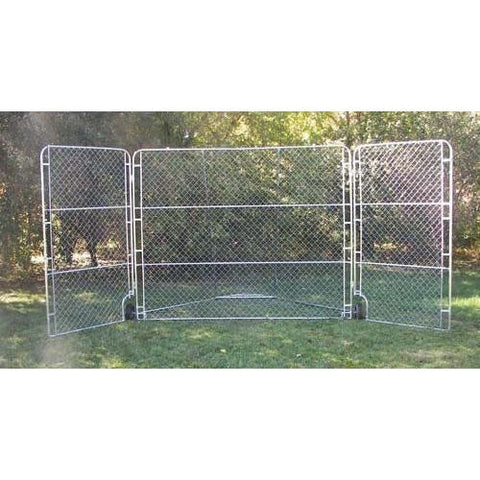 Portable Backstop with Side Panels - Ohio Fitness Garage - Olympia -Backstops - Portable Equipment