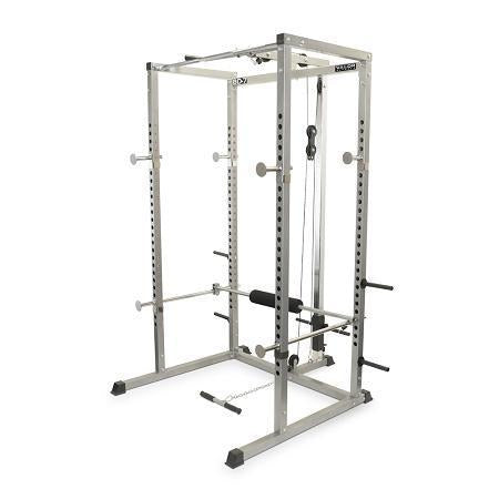 Power rack with lat pull valor fitness ohio fitness garage