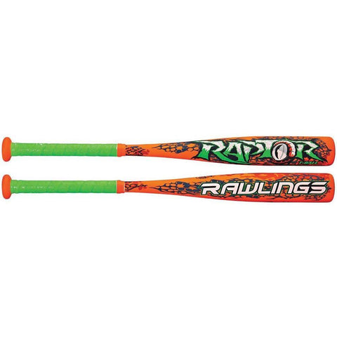 Rawlings Raptor Tball Alloy Bat (-13) - Ohio Fitness Garage - Olympia -Youth Baseball Bats Equipment