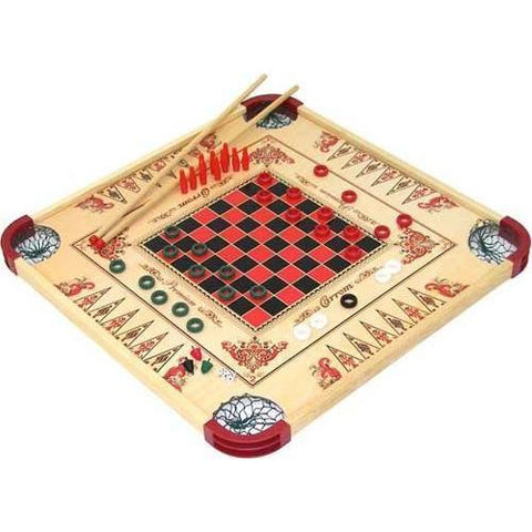 Reversible Multi-Game Board - Ohio Fitness Garage - Olympia -Table & Tabletop Games Equipment