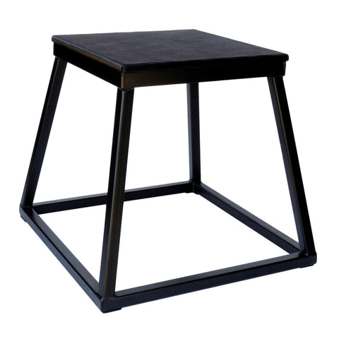 Black Steel Stackable Plyometric Platform Boxes -  ADER FITNESS
