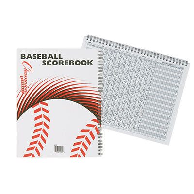 Baseball Scorebook - Champion Sports