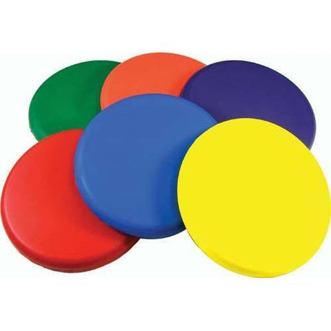 Set of 6 Deluxe Coated Foam Discs - Ohio Fitness Garage - Olympia -Discs & Frisbees Equipment