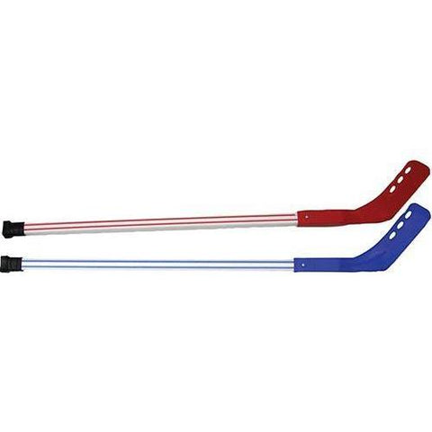 "Shield 36"" Deluxe Hockey Sticks (1 Red/ 1Blue) - Ohio Fitness Garage - Olympia -Shield 36"" Deluxe Hockey Set Equipment"