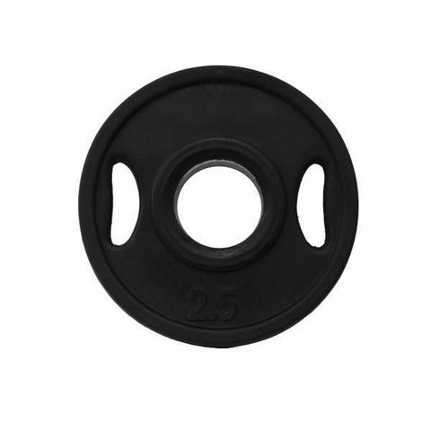 (Single One ) Olympic Urethane Encased Grip Plates - Ader Fitness - Ohio Fitness Garage - Ader Fitness -Olympic Weight Plates Equipment