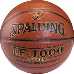 Spalding TF-1000 Classic Basketball - Official - Ohio Fitness Garage - Olympia -Composite Leather Basketballs Equipment