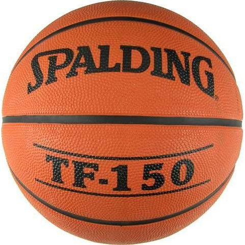 Spalding TF150 Official Rubber Basketball - Ohio Fitness Garage - Olympia -Rubber Basketballs Equipment