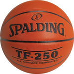Spalding TF250 Inter/Women's Basketball - Ohio Fitness Garage - Olympia -Composite Leather Basketballs Equipment