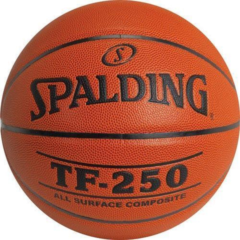 Spalding TF250 Men's Basketball - Ohio Fitness Garage - Olympia -Composite Leather Basketballs Equipment