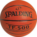 Spalding TF500 Inter/Women's Basketball - Ohio Fitness Garage - Olympia -Composite Leather Basketballs Equipment