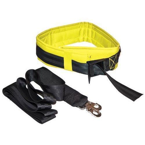 Spotting & Training Belt - Medium - Yellow - Ohio Fitness Garage - Olympia -Spotting and Training Belts Equipment