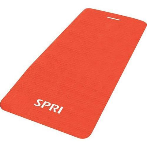 SPRI Exercise Mat - Red - Ohio Fitness Garage - Olympia -Exercise Mats Equipment