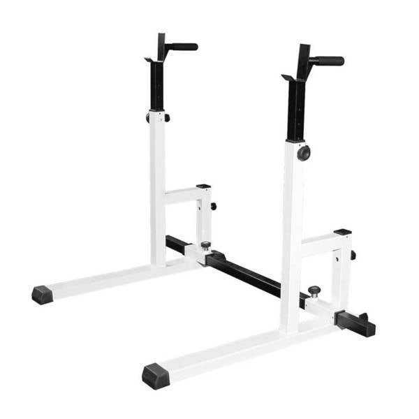 Squat stand dip rack ader fitness ohio fitness garage