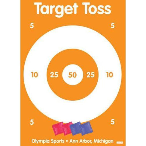 Target Toss Bean Bag Game - Ohio Fitness Garage - Olympia -Roll-Out Games Equipment