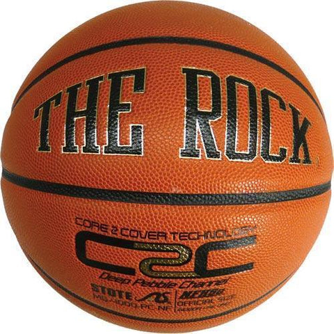 The Rock Basketball - Official - Ohio Fitness Garage - Olympia -Composite Leather Basketballs Equipment