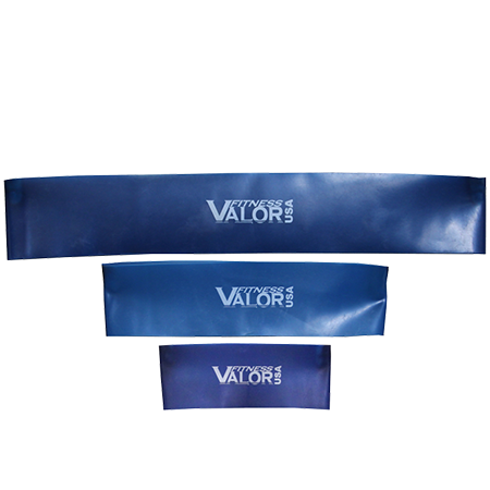 Thin Loop Blue Extra Heavy Resistance Bands - Valor Fitness - Ohio Fitness Garage - Valor Fitness - Equipment