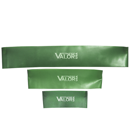 Thin Loop Green Heavy Resistance Bands Set - Valor Fitness - Ohio Fitness Garage - Valor Fitness - Equipment
