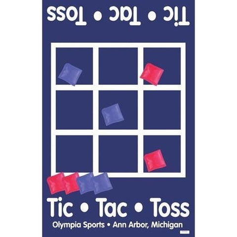 Tic-Tac-Toe Bean Bag Game - Ohio Fitness Garage - Olympia -Roll-Out Games Equipment