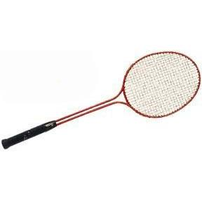 Twin Shaft Steel Badminton Racquet