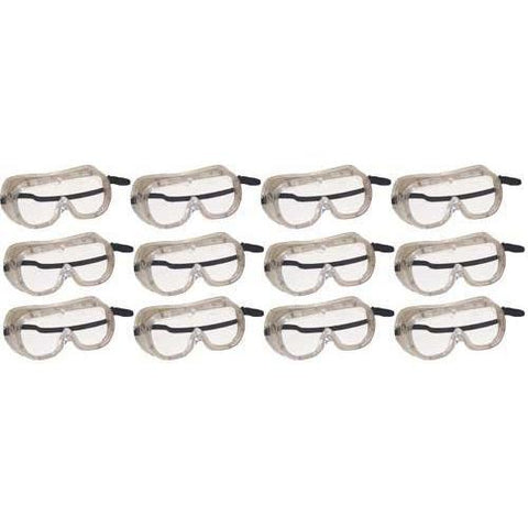 Ventilated Goggles - Set of 12 - Ohio Fitness Garage - Olympia -Safety Goggles Equipment