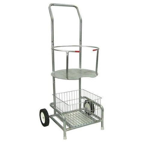 Football Water Cooler Cart - Ohio Fitness Garage -