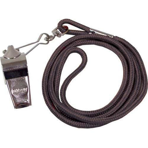 Whistle/Lanyard Combo - Black - Ohio Fitness Garage - Olympia -Official's Whistle/Lanyard Combinations Equipment