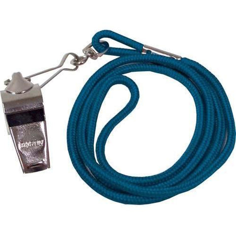 Whistle/Lanyard Combo - Blue - Ohio Fitness Garage - Olympia -Official's Whistle/Lanyard Combinations Equipment