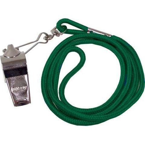 Whistle/Lanyard Combo - Green - Ohio Fitness Garage - Olympia -Official's Whistle/Lanyard Combinations Equipment