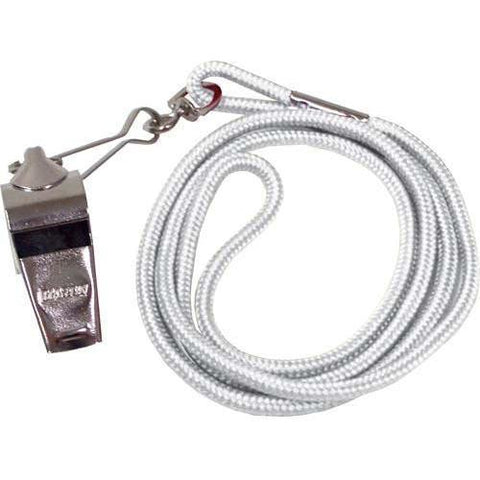 Whistle/Lanyard Combo - White - Ohio Fitness Garage - Olympia -Official's Whistle/Lanyard Combinations Equipment