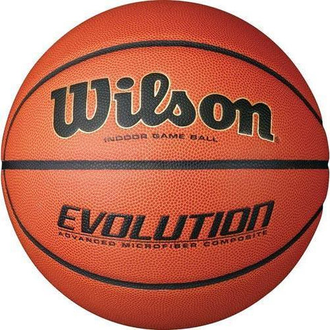 Wilson Evolution Men's Basketball - Ohio Fitness Garage - Olympia -Composite Leather Basketballs Equipment