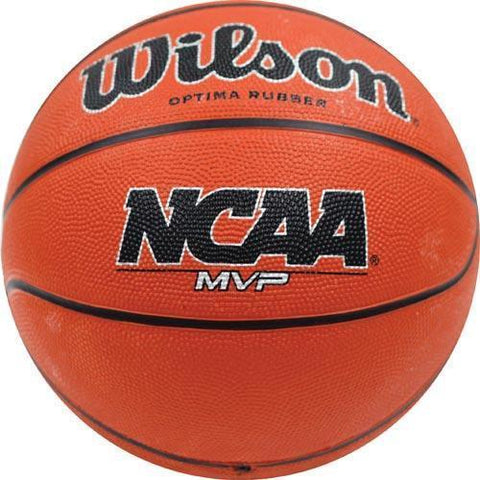 Wilson NCAA MVP Junior Rubber Basketball - Ohio Fitness Garage - Olympia -Rubber Basketballs Equipment