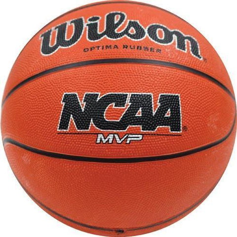 Wilson NCAA MVP Men's Rubber Basketball