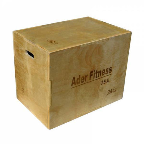 Wood Plyometric Platform Box - Ader fitness