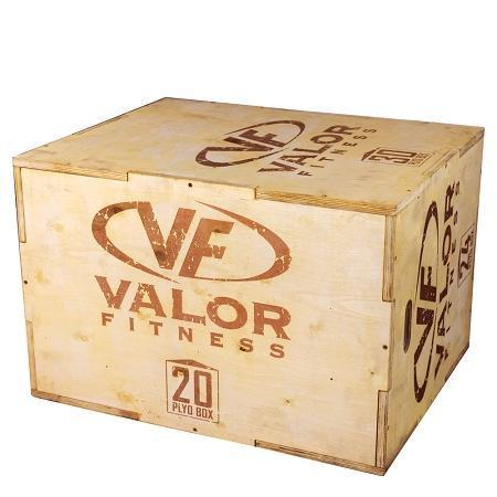 Wooden Plyo Jump Box 20/24/30 - Valor Fitness