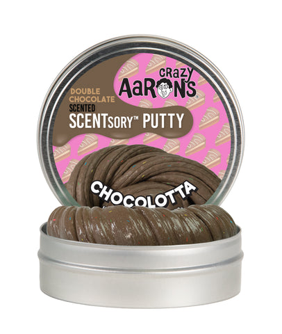 Crazy Aaron's SCENTSory Putty- Chocolatta