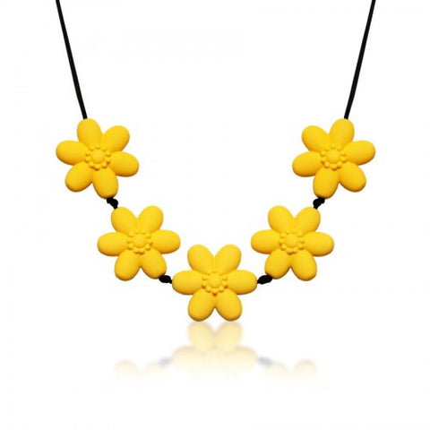 Flower Chew Necklace