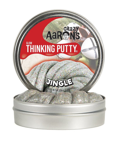Jingle- Crazy Aaron's Thinking Putty- Limited Holiday Edition