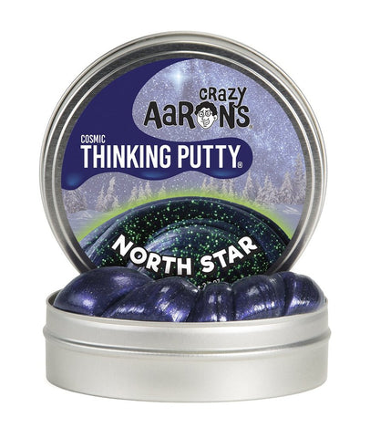 North Star- Crazy Aaron's Thinking Putty- Limited Holiday Edition