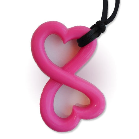 Zen Rocks Infinity Hearts Chewable Pendant