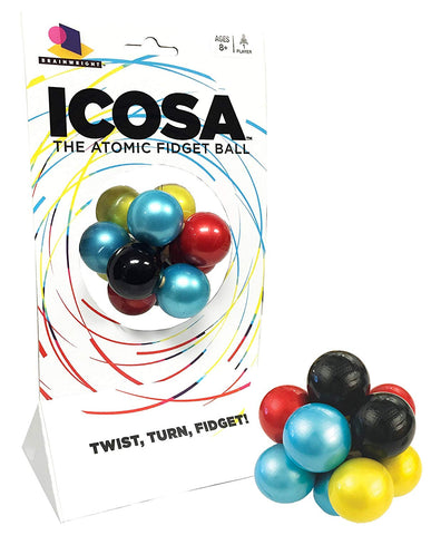 Icosa - The Atomic Fidget Ball