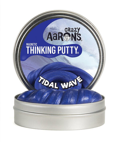 Tidal Wave Crazy Aaron's Thinking Putty, Super Magnetics