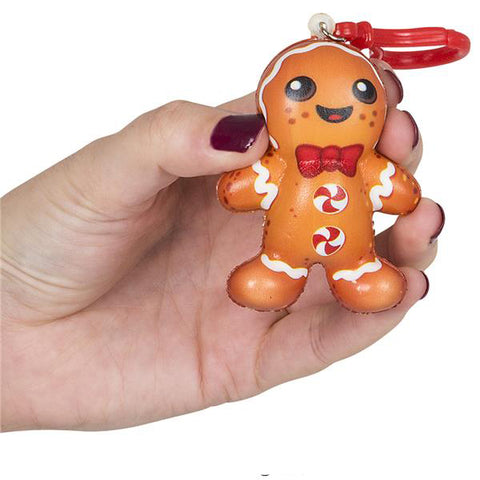 Gingerbread Squishy Keychain